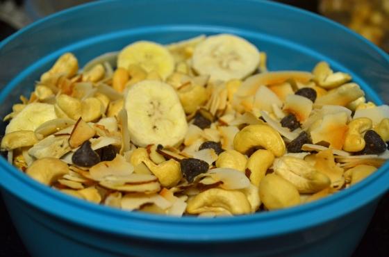 Coco-nutty trail mix